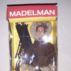 Madelman: FIGURA MADELMAN ALTAYA EXPLORADOR POLAR ESQUIMAL. Lote 189997641