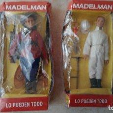 Madelman: MADELMAN ALTAYA POLICIA MONTADA Y ESPELEOLOGO. Lote 190109380