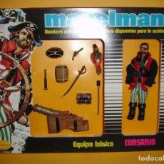 Madelman: MADELMAN EQUIPO BASICO CORSARIO EN CAJA. Lote 190150448