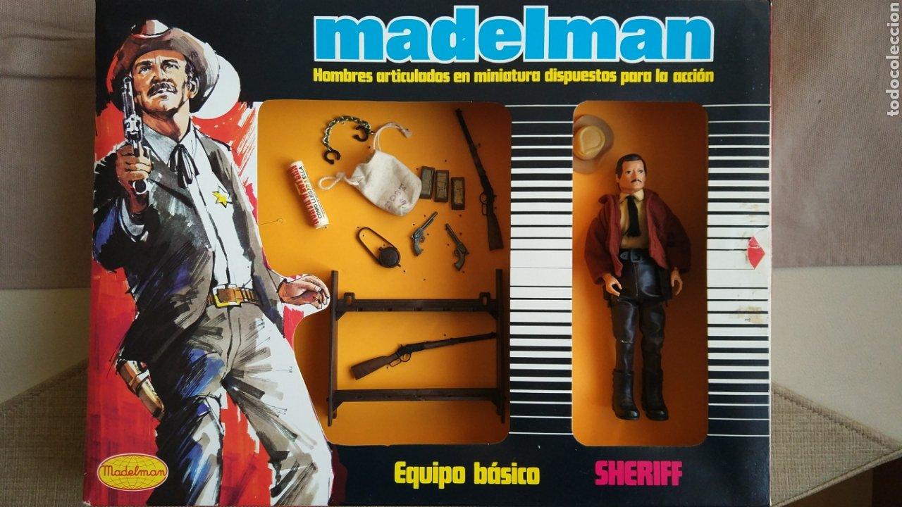 MADELMAN EQUIPO BÁSICO SHERIFF (Juguetes - Figuras de Acción - Madelman)