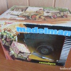 Madelman: REMOLQUE MADELMAN REF. 713 EN SU CAJA ORIGINAL. Lote 190982888