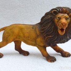 Madelman: LEON KER, GUERREROS DEL VOLCAN, BEASTRONS ,,COMANSI...GOMA -MISMO MOLDE QUE MADELMAN. COLA MAL.. Lote 191205345