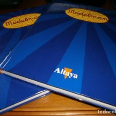 Madelman: ENCICLOPEDIA MADELMAN DE ALTAYA - TOMOS I Y II - EDICIONES ALTAYA - 2003 - COMPLETA Y ENCUADERNADA.. Lote 192860803