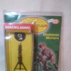 Madelman: MORTERO, ORIGINAL MADELMAN ALTAYA, CON FÁSCICULO. A ESTRENAR. Lote 193214217