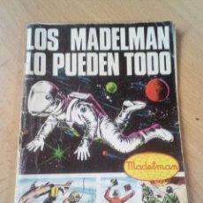 Madelman: CATALOGO LOS MADELMAN EN ACCIÓN 1977 + LOS MADELMAN LO PUEDEN TODO. Lote 194119632
