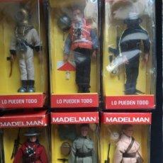 Madelman: MADELMAN, LOTE DE SEIS UNIDADES, NUEVOS EN SU CAJA ORIGINAL, SIN EXTRENAR. Lote 194619865