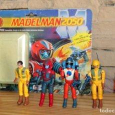Madelman: MADELMAN 2050 - EXIN - LOTE DE 5 FIGURAS + BLISTER VACIO - CON ACCESORIOS . Lote 194665486