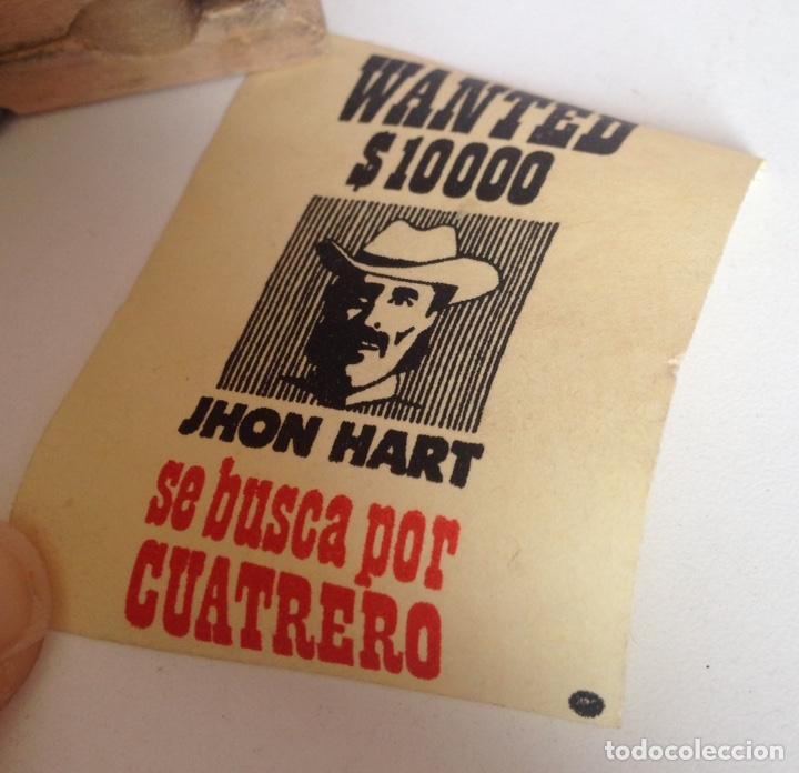Madelman: MADELMAN CARTELES SHERIFF SE BUSCA JHON HART CARTEL CENTRAL DAKOTA PASQUINES ORIGINAL MADELMAN OESTE - Foto 3 - 194755757