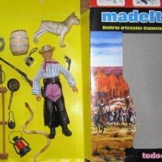 Madelman: MADELMAN MDE LOTE VAQUERO, CAWBOY, CUATRERO, OESTE. EN CAJA EQUIPO INDIVIDUAL. Lote 195086020