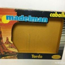 Madelman: MADELMAN CAJA VACIA CABALLO TORDO ORIGINAL. Lote 195178143