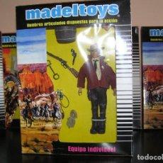 Madelman: MADELMAN MDE. LOTE SHERIFF OESTE EN CAJA EQUIPO INDIVIDUAL. CARA SUAREZ. OESTE, FAR WEST. Lote 195319228