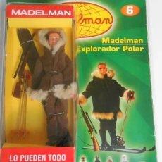 Madelman: ORIGINAL MADELMAN ALTAYA, CONJUNTO COMPLETO DE FASCÍCULO Y ESQUIADOR DE MONTAÑA, PRECINTADOS. Lote 195434402