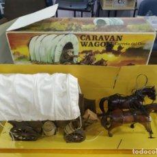 Madelman: PIEZON MADELMAN CARAVANA CARRETA EN CAJA BUENISIMO ESTADO. Lote 195769835