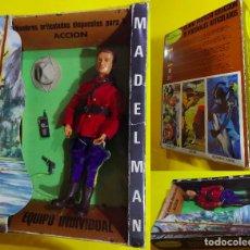 Madelman: MADELMAN ORIGINAL EN CAJA POLICIA MONTADA DEL CANADA 1A GENERACIÓN. Lote 196205552