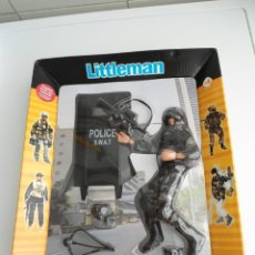Madelman: URBAN SWAT LITTLEMAN - FIGURA IDJ MADELMAN 1999 - PERFECTO ESTADO (NUEVA). Lote 199421518