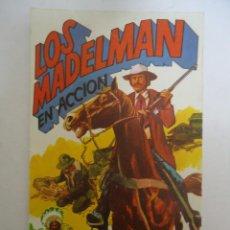 Madelman: CATALOGO DE LOS MADELMAN EN ACCION ORIGINAL. AÑO 1977. Lote 205393253