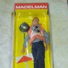 Madelman: MARINERO PORTAAVIONES .MADELMAN ALTAYA. FIGURA EN BLISTER SIN ABRIR. Lote 206304765