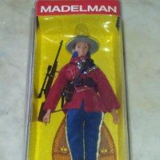 Madelman: POLICIA MONTADA .MADELMAN ALTAYA. FIGURA EN BLISTER SIN ABRIR. Lote 206304962