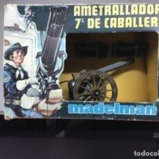Madelman: MADELMAN AMETRALLADORA 7 DE CABALLERÍA NUEVA. Lote 206402560