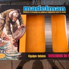 Madelman: MADELMAN CAJA BUSCADOR DE ORO ORIGINAL. Lote 207041006