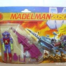 Madelman: EXIN MADELMAN 2050 FIGURA SAURIUS EN BLISTER REF. 1603 NUEVA A ESTRENAR AÑO 1988 MADE IN SPAIN. Lote 207116176