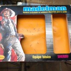 Madelman: MADELMAN CAJA EQUIPO BÁSICO SHERIFF ORIGINAL. Lote 207128308