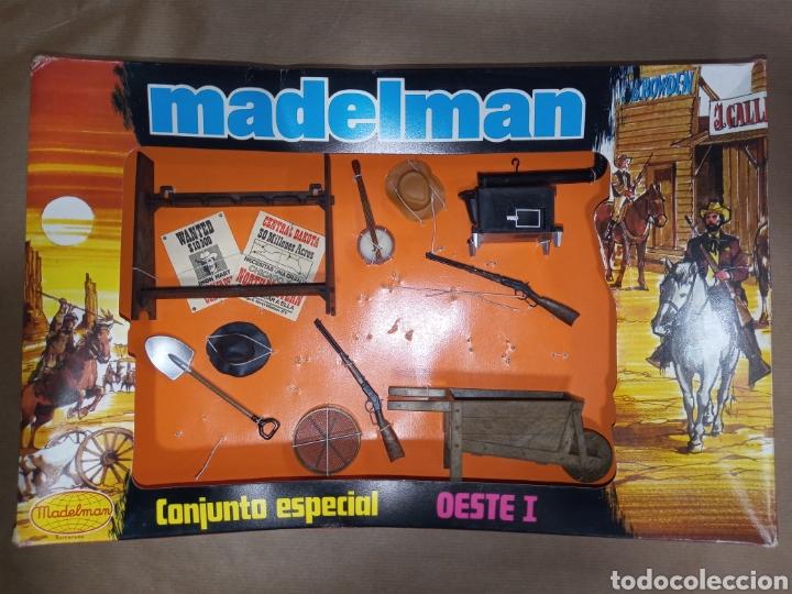 CAJA MADELMAN ORIGINAL CONJUNTO ESPECIAL OESTE I (Juguetes - Figuras de Acción - Madelman)