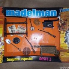 Madelman: CAJA MADELMAN ORIGINAL CONJUNTO ESPECIAL OESTE I. Lote 207179901