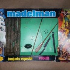 Madelman: CAJA MADELMAN ORIGINAL CONJUNTO ESPECIAL PIRATA. Lote 207224916