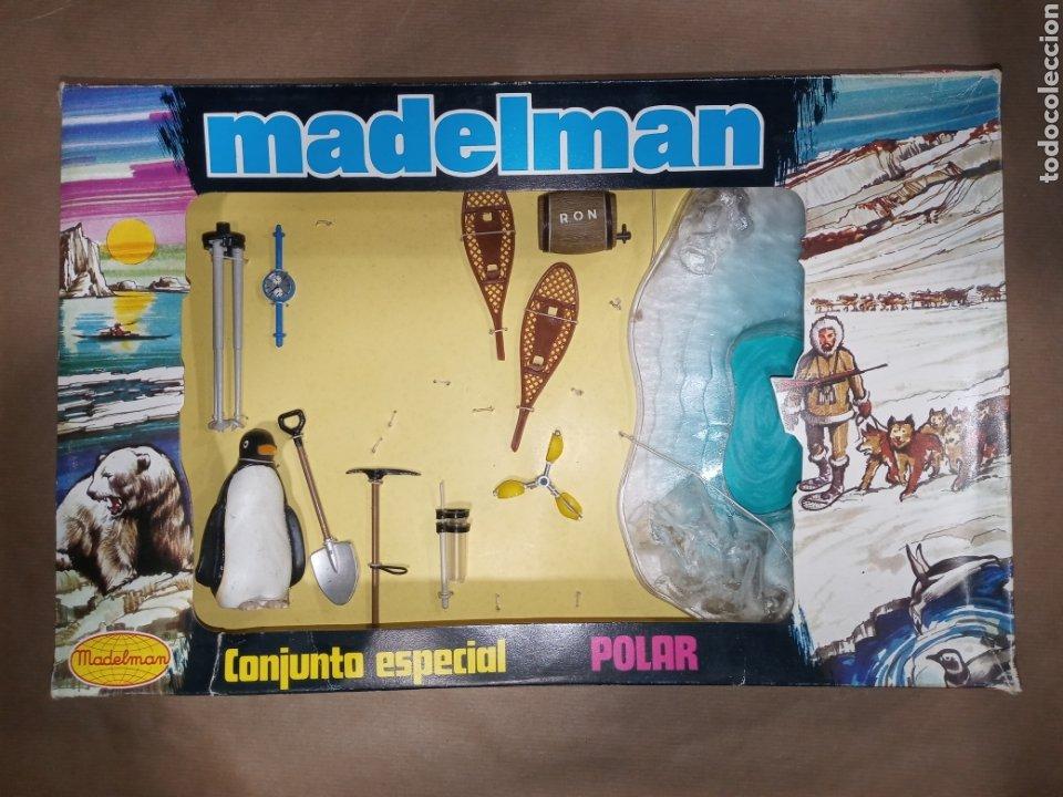 CAJA MADELMAN ORIGINAL CONJUNTO ESPECIAL POLAR (Juguetes - Figuras de Acción - Madelman)