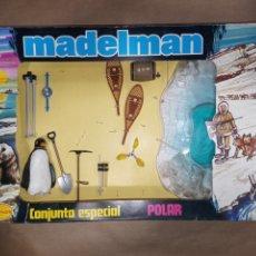 Madelman: CAJA MADELMAN ORIGINAL CONJUNTO ESPECIAL POLAR. Lote 207230238