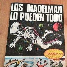 Madelman: CATÁLOGO MADELMAN ORIGINAL AÑOS 70 MUY BUEN ESTADO. Lote 207360413