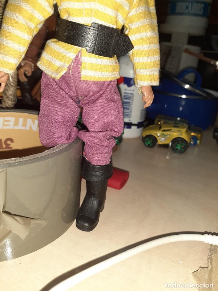 Madelman: Madelman original 1ªserie años 70.Con la ropa del pirata Jim Black.Con faltas. - Foto 2 - 212402695