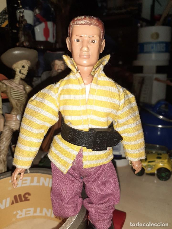 Madelman: Madelman original 1ªserie años 70.Con la ropa del pirata Jim Black.Con faltas. - Foto 3 - 212402695