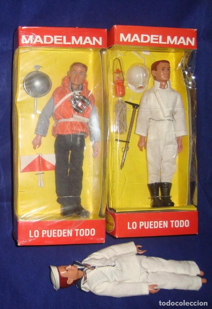 COLECCIÓN MADELMAN ESPELEOLOGO + MARINERO PORTAVIONES + MARINERO (Juguetes - Figuras de Acción - Madelman)