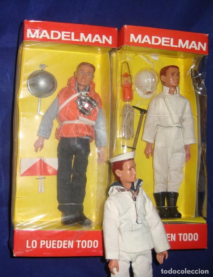 Madelman: COLECCIÓN MADELMAN ESPELEOLOGO + MARINERO PORTAVIONES + MARINERO - Foto 2 - 212423150