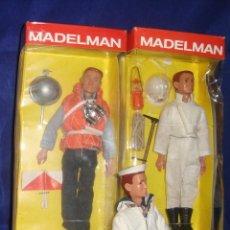 Madelman: COLECCIÓN MADELMAN ESPELEOLOGO + MARINERO PORTAVIONES + MARINERO. Lote 212423150