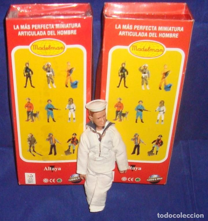 Madelman: COLECCIÓN MADELMAN ESPELEOLOGO + MARINERO PORTAVIONES + MARINERO - Foto 4 - 212423150