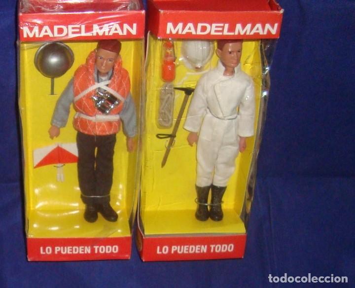 Madelman: COLECCIÓN MADELMAN ESPELEOLOGO + MARINERO PORTAVIONES + MARINERO - Foto 5 - 212423150