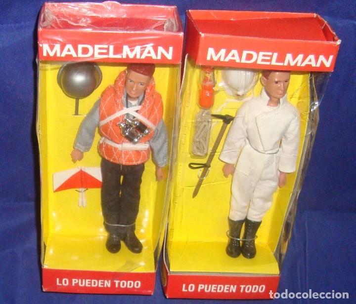 Madelman: COLECCIÓN MADELMAN ESPELEOLOGO + MARINERO PORTAVIONES + MARINERO - Foto 6 - 212423150