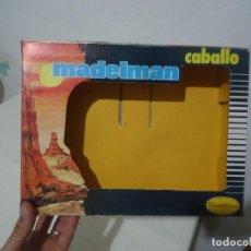 Madelman: MADELMAN CABALLO CAJA VACIA MUY BUEN ESTADO. Lote 215964293