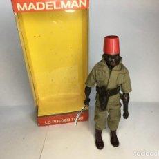 Madelman: MADELMAN PORTEADOR NEGRO ALTAYA. Lote 220415230