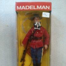 Madelman: MADELMAN POLICÍA MONTADA. ALTAYA. Lote 221085008