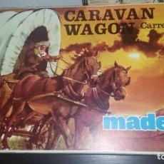 Madelman: CARAVAN WAGON CARRETA DEL OESTE DE MADELMAN NUEVA. Lote 222428775