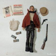 Madelman: ¡¡LOS ORIGINALES!! MADELMAN ORIGINAL MADEL S.A AÑOS 70/80. 2ª SERIE SHERIFF Y COMPLEMENTOS. Lote 224002207