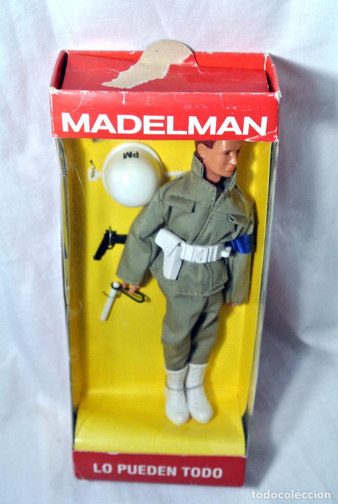 Madelman: FIGURA DE ACCION MADELMAN POLICIA MILITAR, ALTAYA, edidión limitada 14103 , NUEVO CON CAJA * - Foto 3 - 145476854