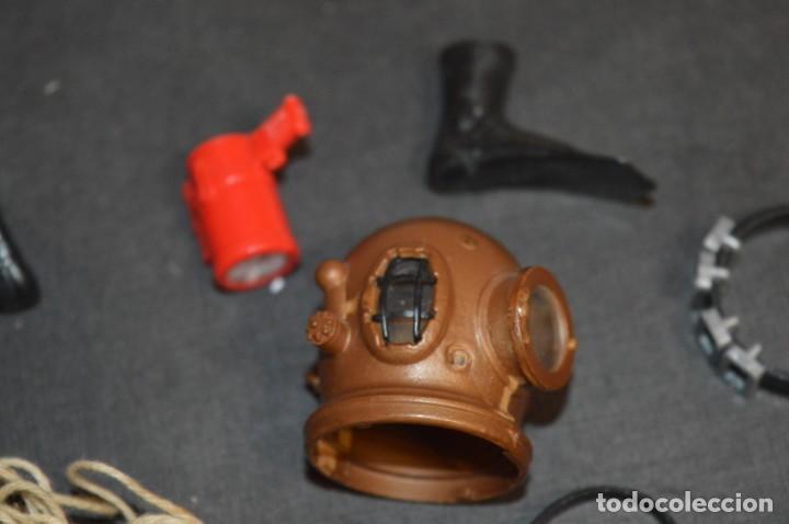 Madelman: Lote 07- Piezas/accesorios variados de MADELMAN antiguo / Todo original MADEL ¡Mirar fotos/detalles! - Foto 4 - 224921875