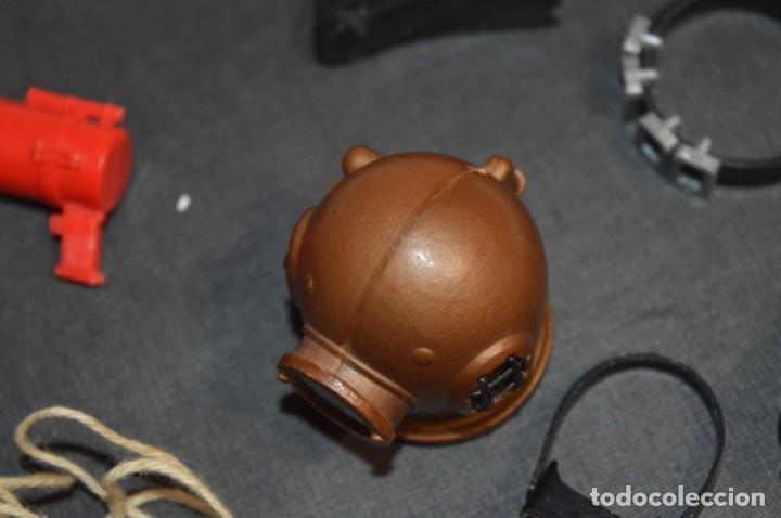 Madelman: Lote 07- Piezas/accesorios variados de MADELMAN antiguo / Todo original MADEL ¡Mirar fotos/detalles! - Foto 7 - 224921875