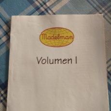 Madelman: MADELMAN.INDICE PRIMER VOLUMEN ENCICLOPEDIA ALTURA.COMO SE VE. Lote 225121692