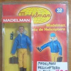 Madelman: MADELMAN PILOTO DE HELICÓPTERO NUEVO SIN DESPRECINTAR. Lote 225310522